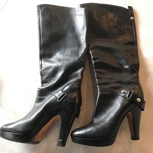 Boutique leather boot
